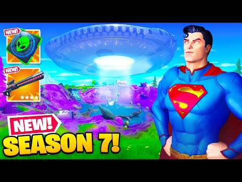 NEW Season 7 is HERE EVERYTHING NEW Fortnite Chapter 2 Season 7 Update