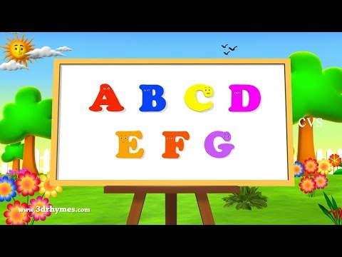 ABC Song Alphabet Songs ABCD Songs for Children 3D Learning ABC Nursery Rhymes 3