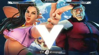Street Fighter V Tournament: Sennheiser NYC Invitational - DaFeetLee (Laura) vs TA Moons (M. Bison)