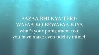 Yeh Jism Hai To Kya - Jism 2 Lyrics with English Translation (Ali Azmat)