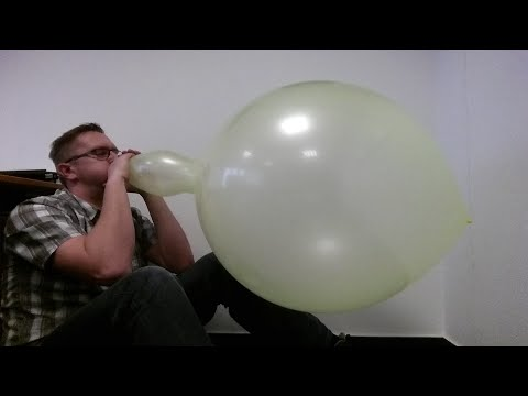 b2p punch balloon by loonerworld - neon yellow