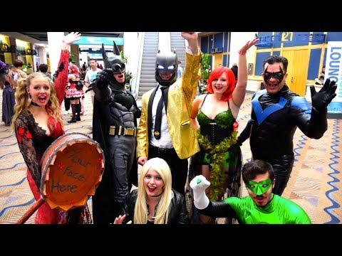 Xxx Mp4 Batman Comic Con Mayhem Ft Harley Quinn Poison Ivy Superhero Movie MELF 3gp Sex