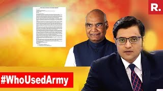 Who Is Politicising The Forces Now? | The Debate With Arnab Goswami