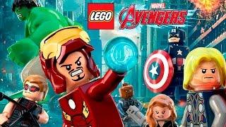 LEGO Marvel Avengers Pelicula Completa Español | Los Vengadores - Todas las Cinematicas (Game Movie)