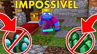 Minecraft: PROIBIDO ESMERALDA E DIAMANTE   Afreim [ BedWars ]