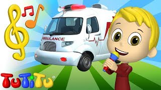 Song & Karaoke | Ambulance | TuTiTu Toys and Songs for Children