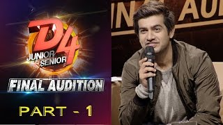 D4 Junior Vs Senior I Final Audition - Part 1 I Mazhavil Manorama