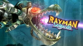 Rayman Legends: 100% Guide - 20,000 Lums Under the Sea