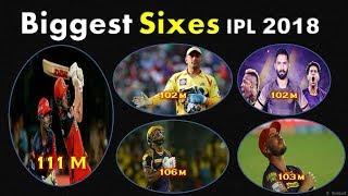 Biggest Sixes IPL 2018 | AB De Villiers Hits Biggest Six Of IPL 2018