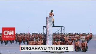 Bikin Lawan Ciut, Skill Beladiri Tingkat Tinggi Prajurit TNI - HUT TNI ke-72