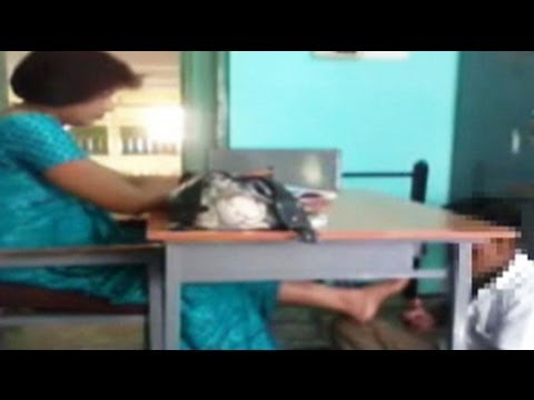 Xxx Mp4 Caught On Camera School Teacher Makes Student Massage Her Feet 3gp Sex