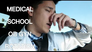 A Day in a Life of a Medical Student (MS3) | OB GYN