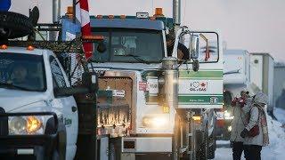 Pro-pipeline convoy approaches Ottawa