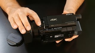 Sony FDR-AX100: A Guided Tour of the Sony FDR-AX100 4K Ultra HD Camcorder