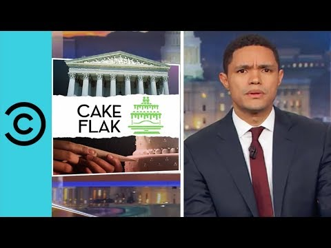 The Gay Wedding Cake Debate The Daily Show