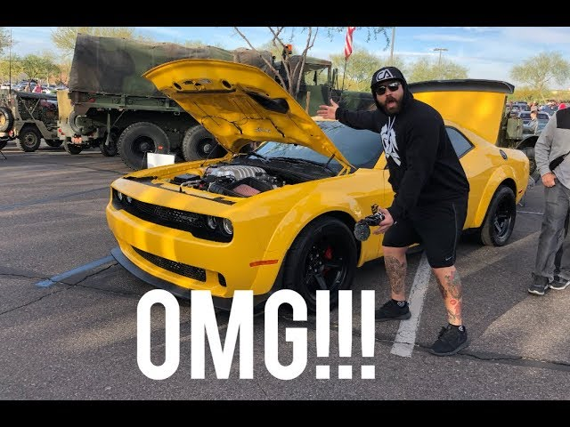 ITS HERE!! THE YELLOW JACKET DODGE DEMON!!!!!!!!!!