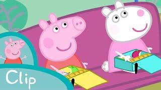 Peppa Pig Episodes - School trip (clip) - Cartoons for Children