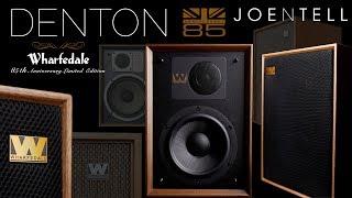 New Sound • Retro Vibe •  The Denton 85th Anniversary Speaker by Wharfedale