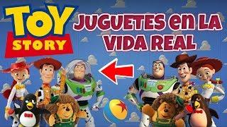JUGUETES De TOY STORY En La VIDA REAL | Personajes Vs Juguetes Reales