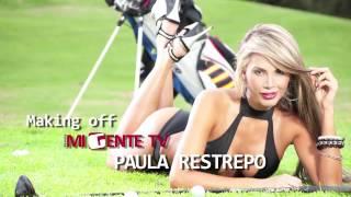 Modelo Paula restrepo Sesión de fotos y Making off Mi Gente TV 💋💋💋