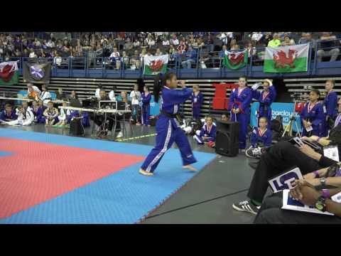 2016 Taekwondo International World Championships Musical Pattern M Levan