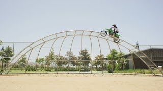 Justin Mulford Drops the first ever STREET MOTO part on a 450cc