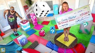 GIANT BOARD GAME CHALLENGE!! winner gets $10000!