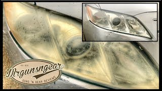 How To Clean Foggy Headlights At Home!