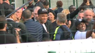 France World Cup hero Mbappe returns to hometown of Bondy