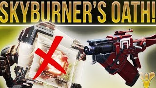 Destiny 2 Exotic Review. Skyburner's Oath Solar Slug. Again......Folks Are Missing The Point.