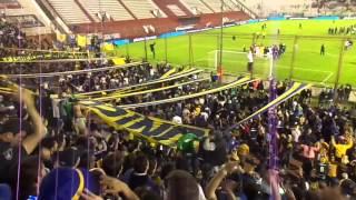 Festejos después de pasar a 4tos de final en la Copa Argentina