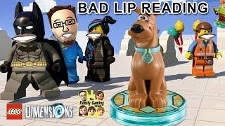 LEGO DIMENSIONS: Bad Lip Reading by FGTEEV (Scooby Doo, Doctor Who & Main TRAILER Parody)