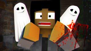HAUNTED BY GHOSTS! | Minecraft Murder Mystery