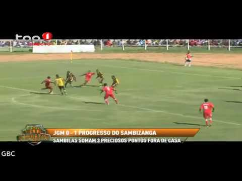 Girabola ZAP 2017 -- 8ª Jornada -- JGM do Huambo vs Progresso do Sambizanga