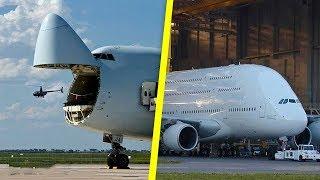 أكبر 11 طائرة في التاريخ, لن تصدق حجمها..!!