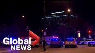 Police respond to reported shooting near Chicago hospital