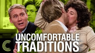 Uncomfortable Christmas Family Traditions