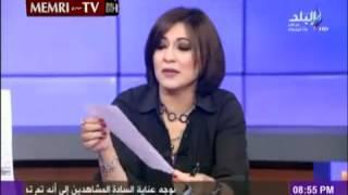 مذيعة مصرية تطرد سلفي لقلة أدبه على الهواء