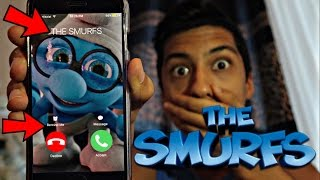 CALLING THE SMURFS *OMG HE ACTUALLY ANSWERED*