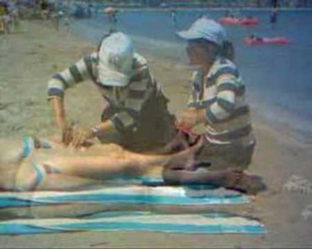 Masaje chino en la playa