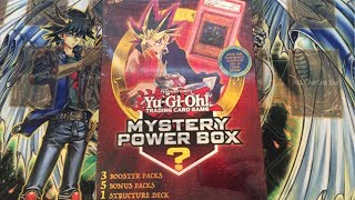 Yugioh Toysrus Mystery Power Box Opening - 8 Packs, 1 Deck, Mystery Item, & BCCG Graded Card?!