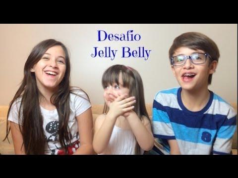Carol Santina - Desafio Jelly Belly - com Ricky e Sophia