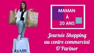 Maman à 20 ans - VLOG - Journée Shopping O'parinor - Je veux l'iPhone 8 !