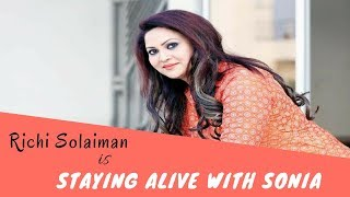 Richi Solaiman is staying alive with Sonia at NYC | Real Chamak