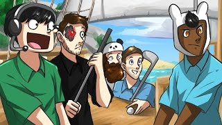 PIRATES IN PRACTICE! - Golf It