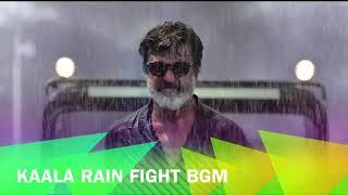 Kaala - Rain Fight BGM   Rajinikanth   Santhosh Narayanan