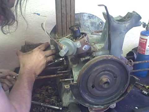 Xxx Mp4 1958 Old VW Bus Discovery Part 3 Restoration Safari Van 36hp Motor Rebuild Runs Drives 3gp Sex