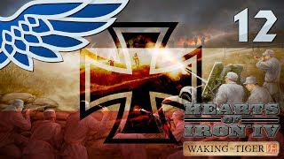 HEARTS OF IRON 4 | GRABBING SOME TURKEY PART 12 - HOI4 WAKING THE TIGER Let