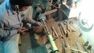 Indian Wood Craftsmen at Work || Wooden Handicrafts In Mumbai  2016