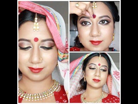 Pohela Boishakh 2016 (Bangla) Tutorial   পহেলা বৈশাখ Makeup Tutorial
